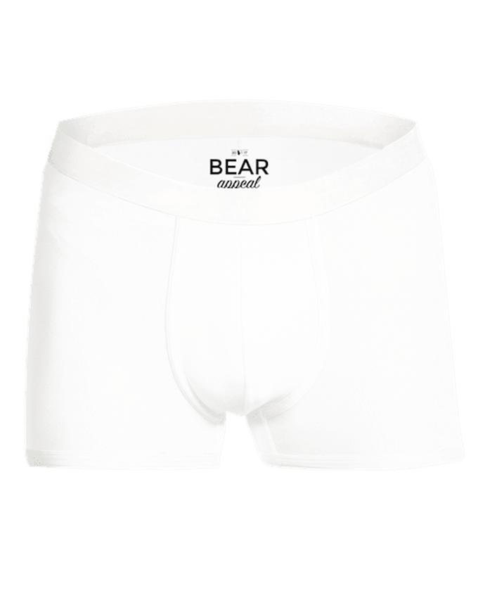 Men's White Boxer Brief