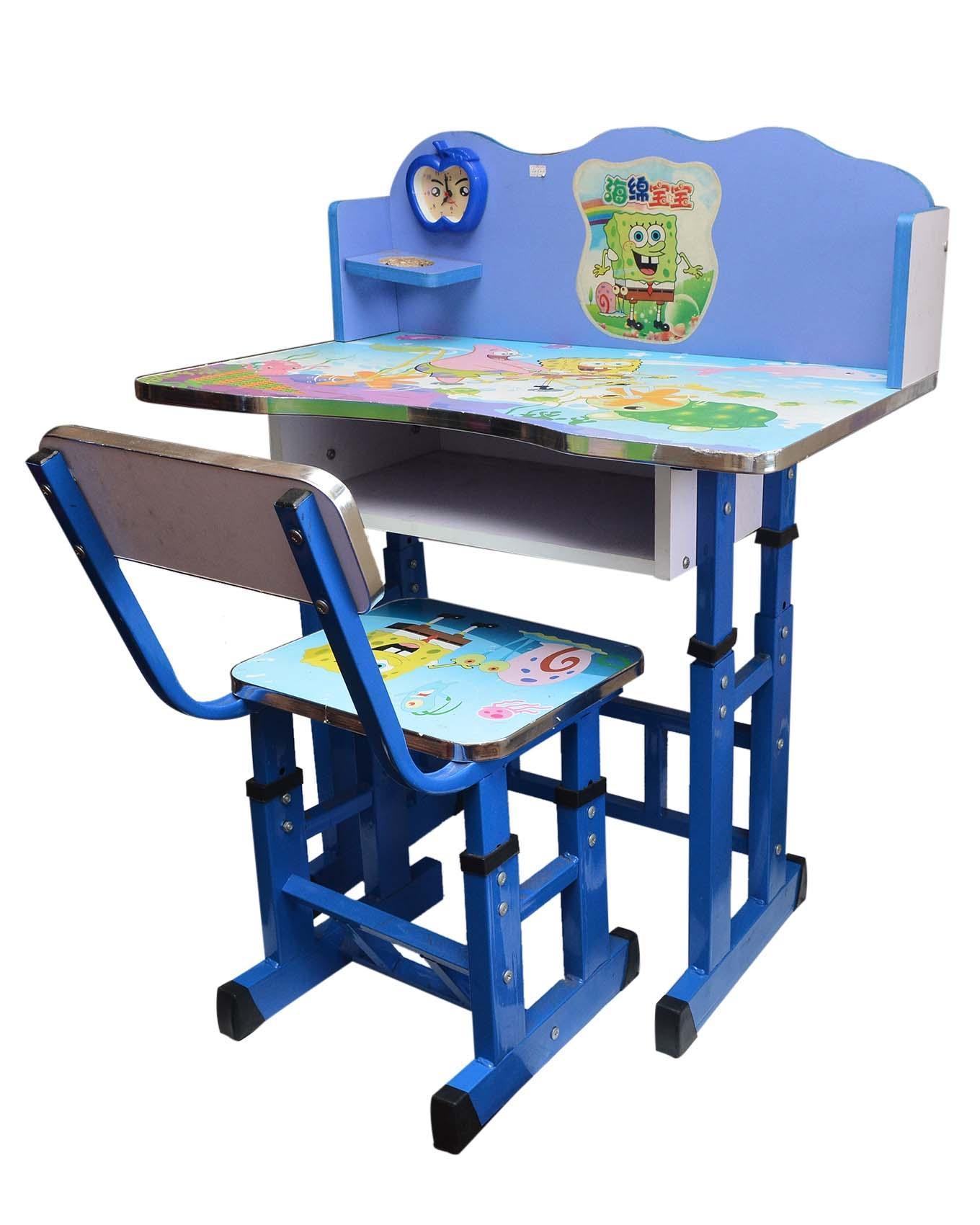 Study Desk Set For Kids - Blue