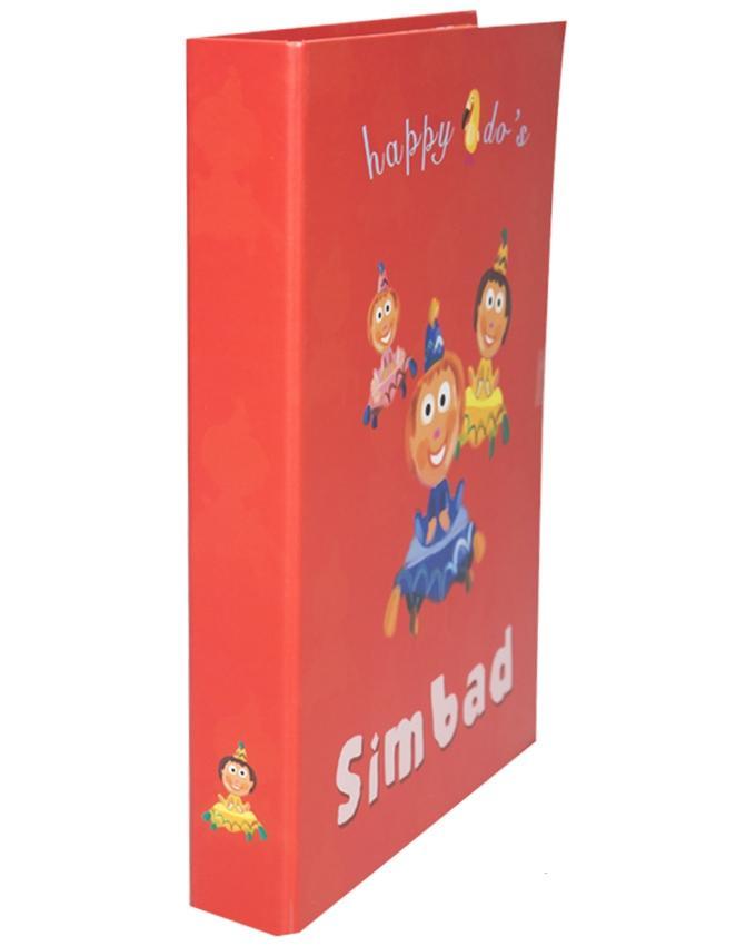 2 Ring Laminated Files A4 - Simbad