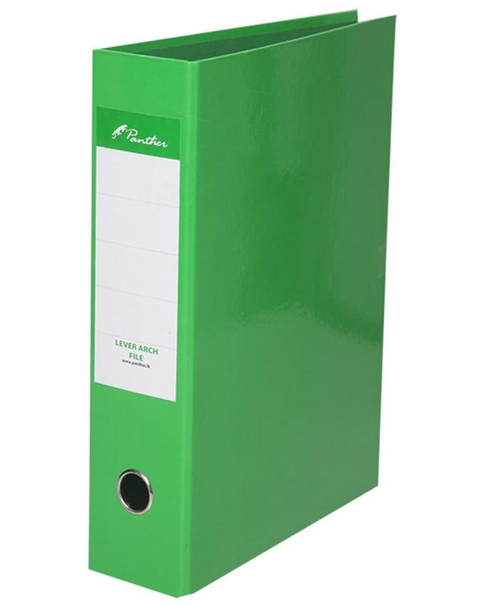 Box File 75mm  Laminated F4 - Light Green
