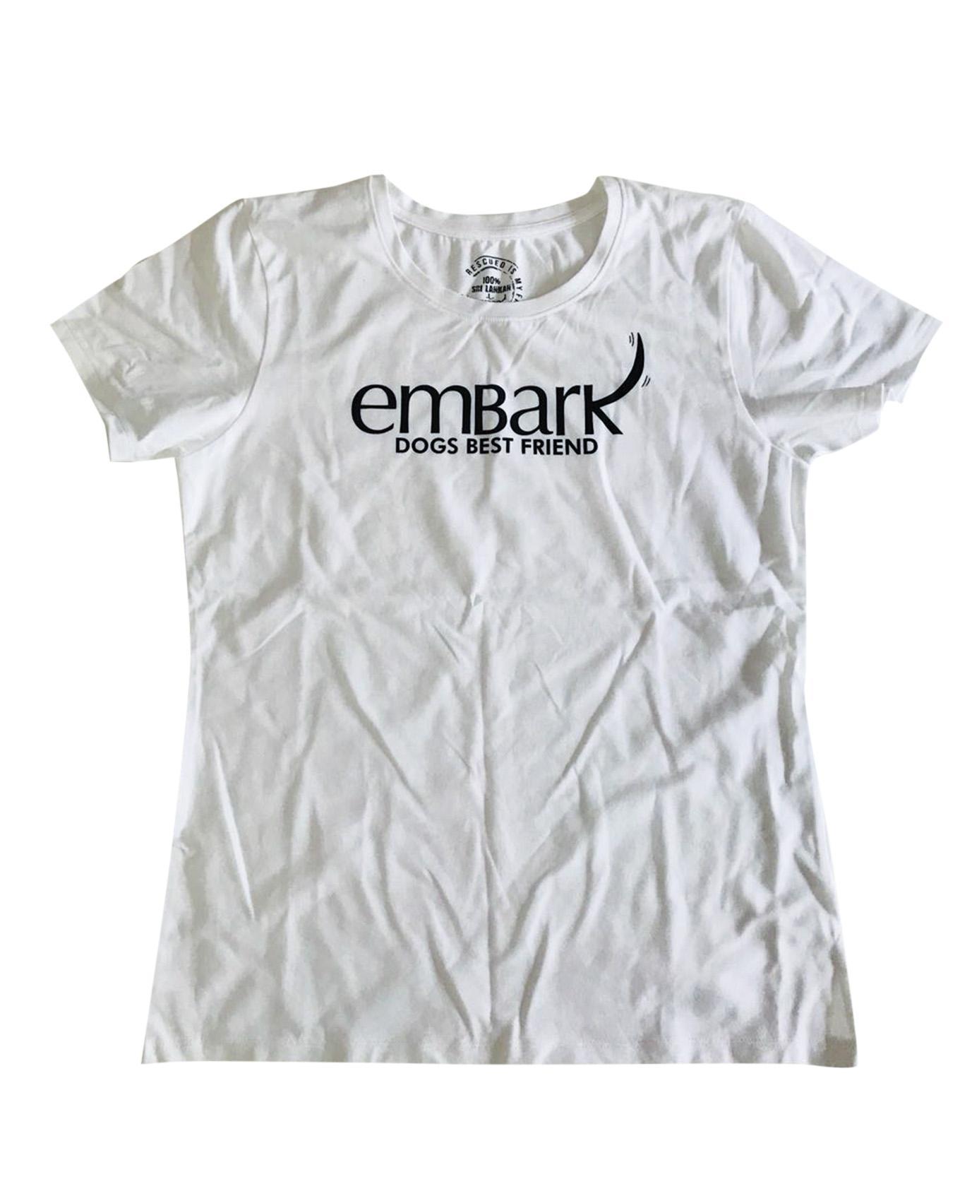 Unisex Dogs Best Friend White Tshirt