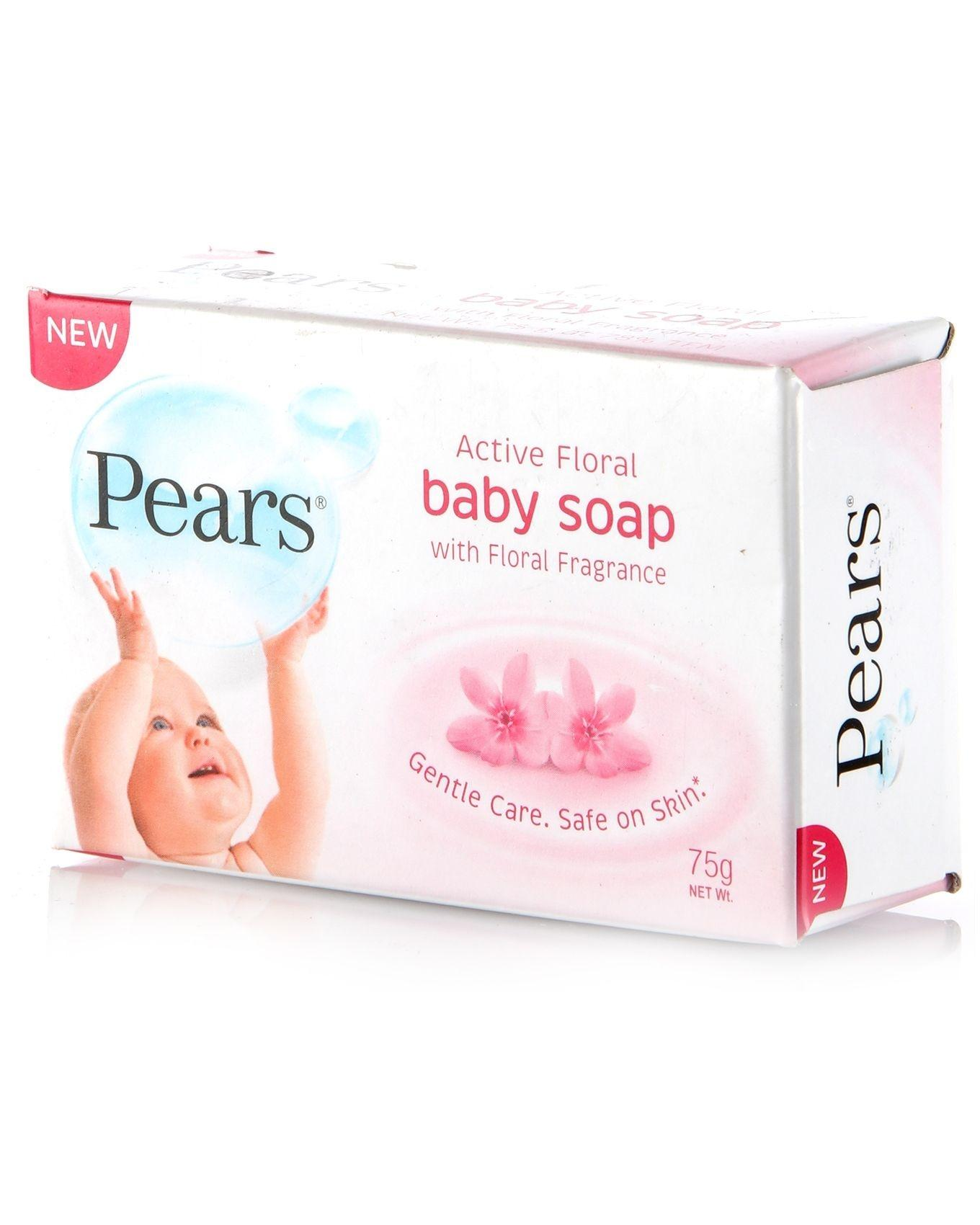 Active Floral Baby Soap With Floral Fragrance 100g