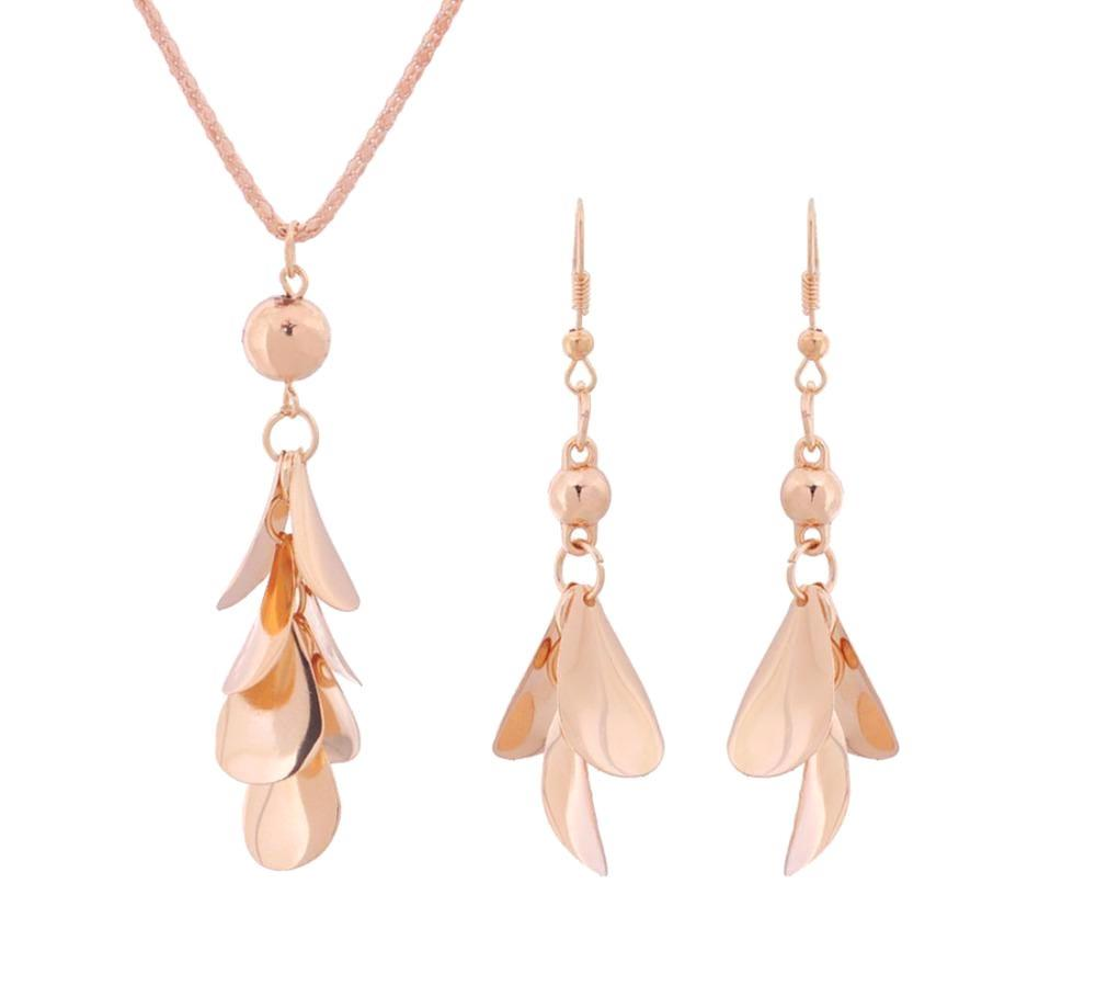 Women's Gold Plated Jewelry Set
