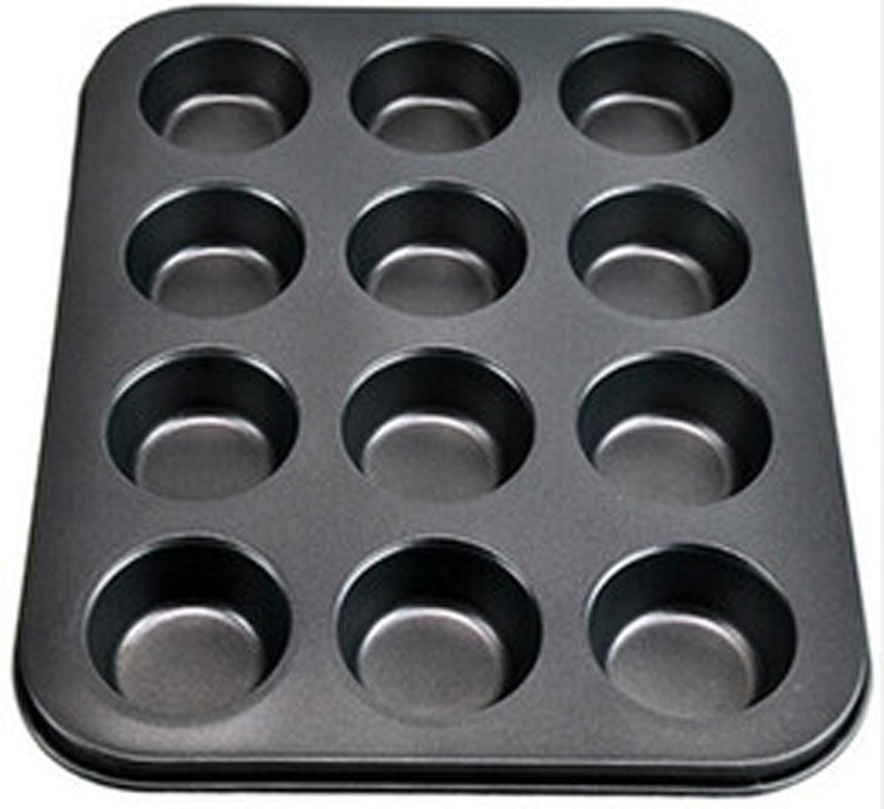Nonstick Carbon Steel Muffin and Cupcake Pan - 12 Cups