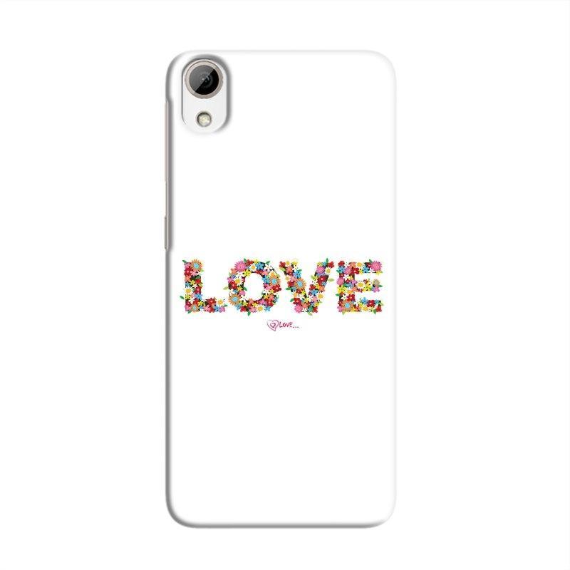 FlowerLove Hard Case For HTC Desire 826