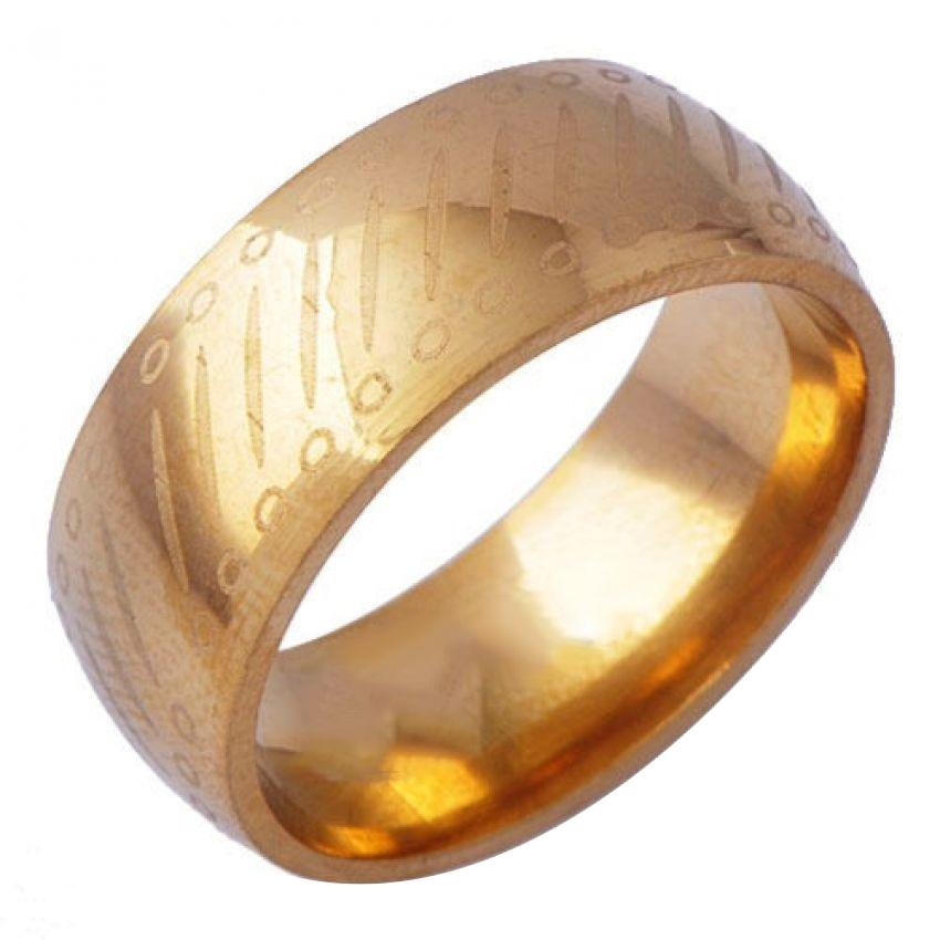Women's 18K Yellow Gold Plated Ring