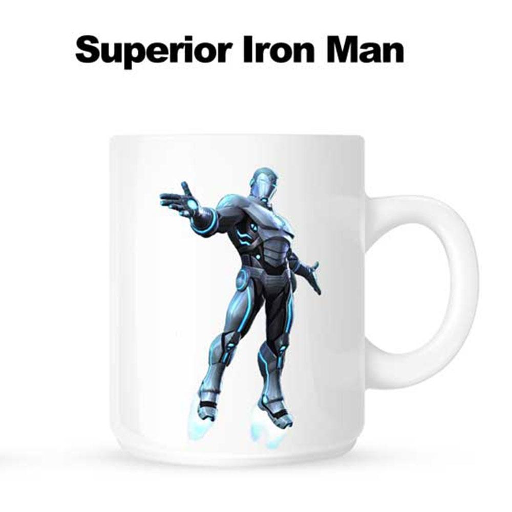 Superhero Mug - White