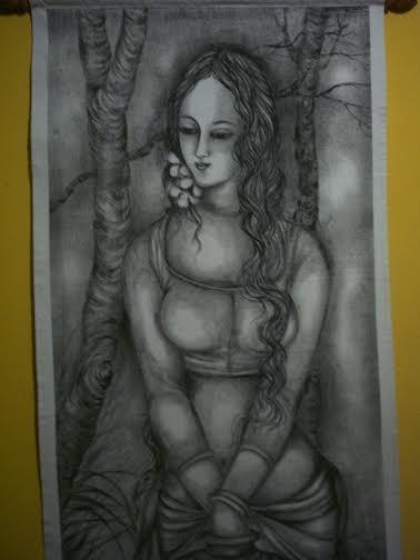 Gray Cloth Canvas3