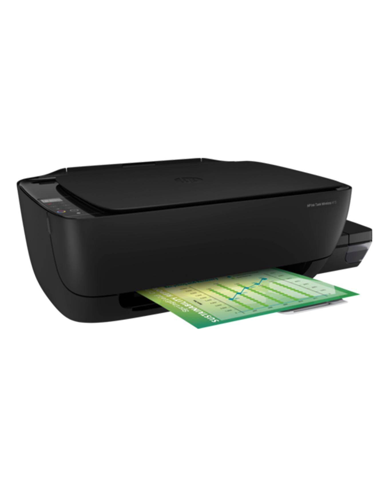 HP Ink AIO Printer Col Black TANK WL 415