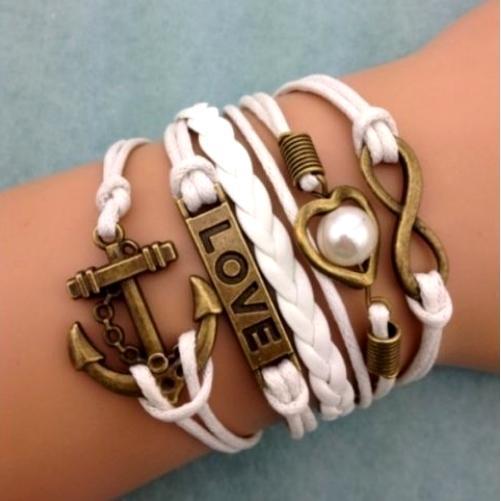 Women's Multi Layer Leather Bracelet