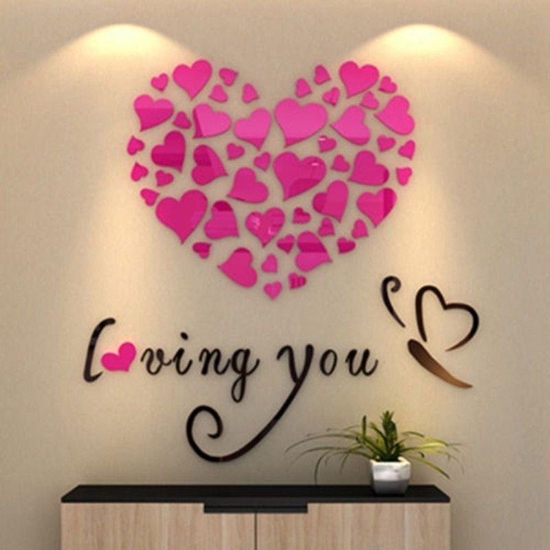 3D Mirror Removable Wall Sticker
