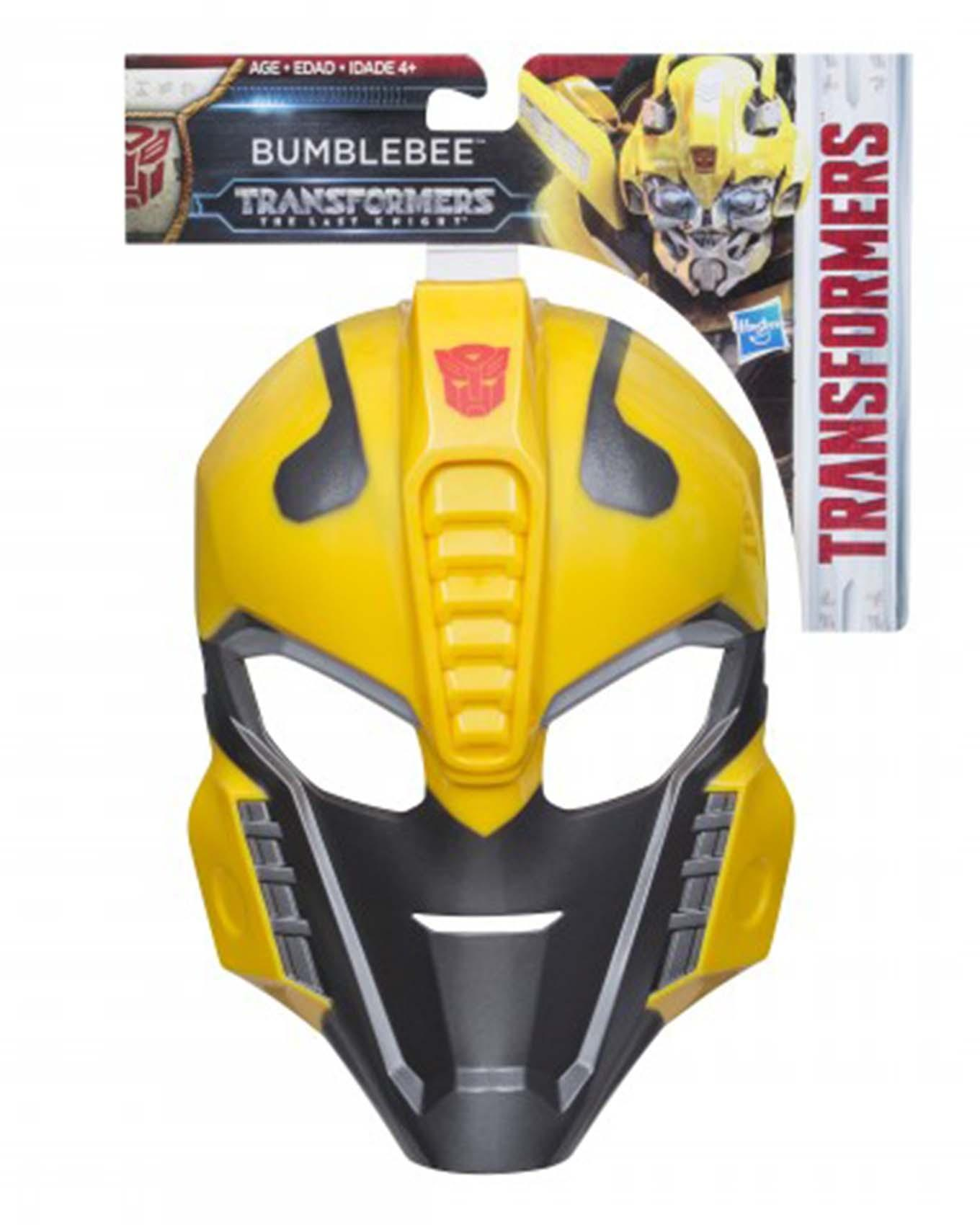 Transformer Role Play Mask - Yellow