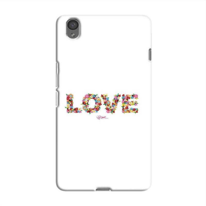 FlowerLove Hard Case For OnePlus  X