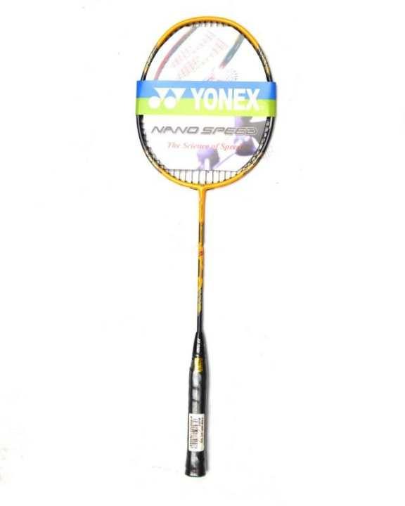 Badminton Racket - Yellow