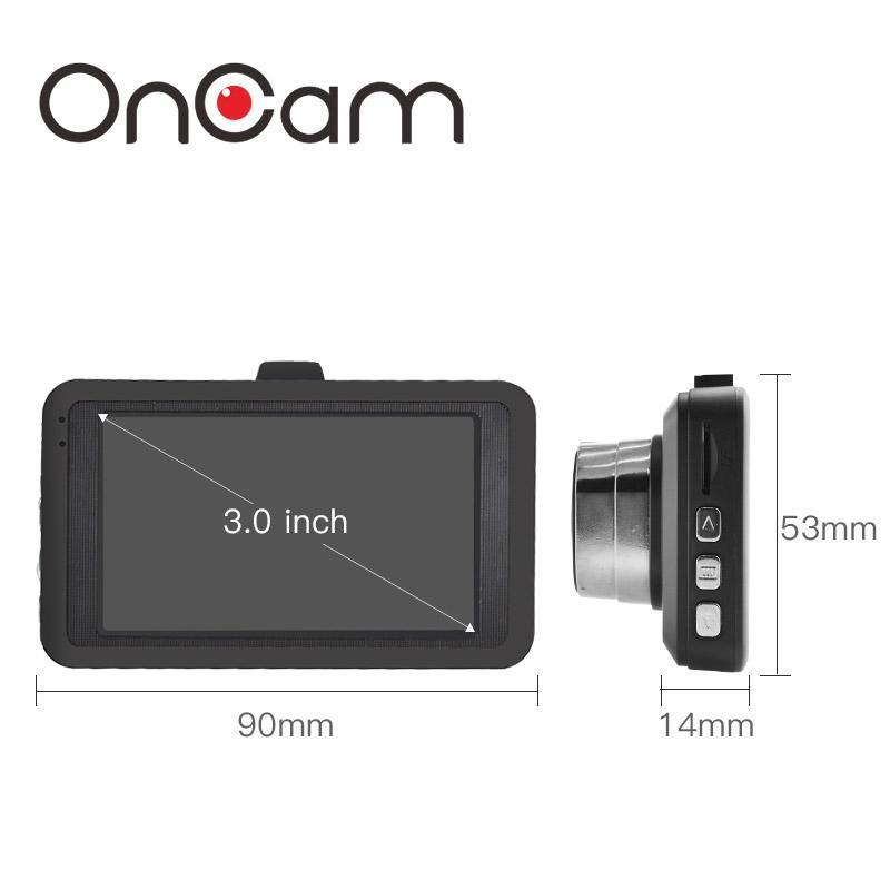 OnCam 5MP Dash Board Camera Full HD Wide Angle