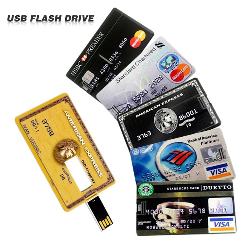 8GB Credit Card Flash Drive