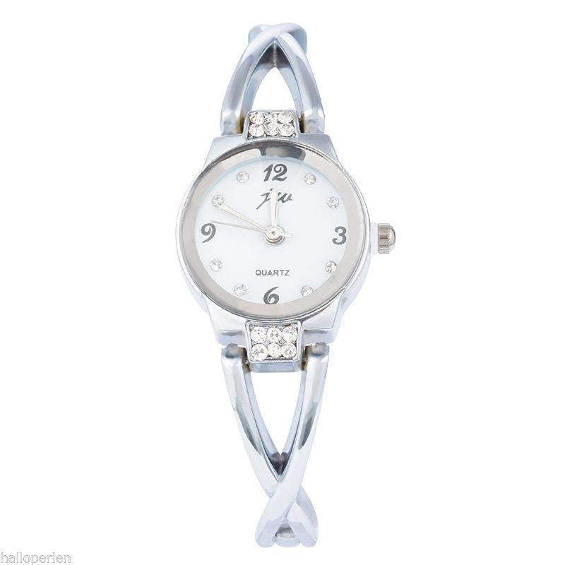 Women's Silver Analog Wrist Watch