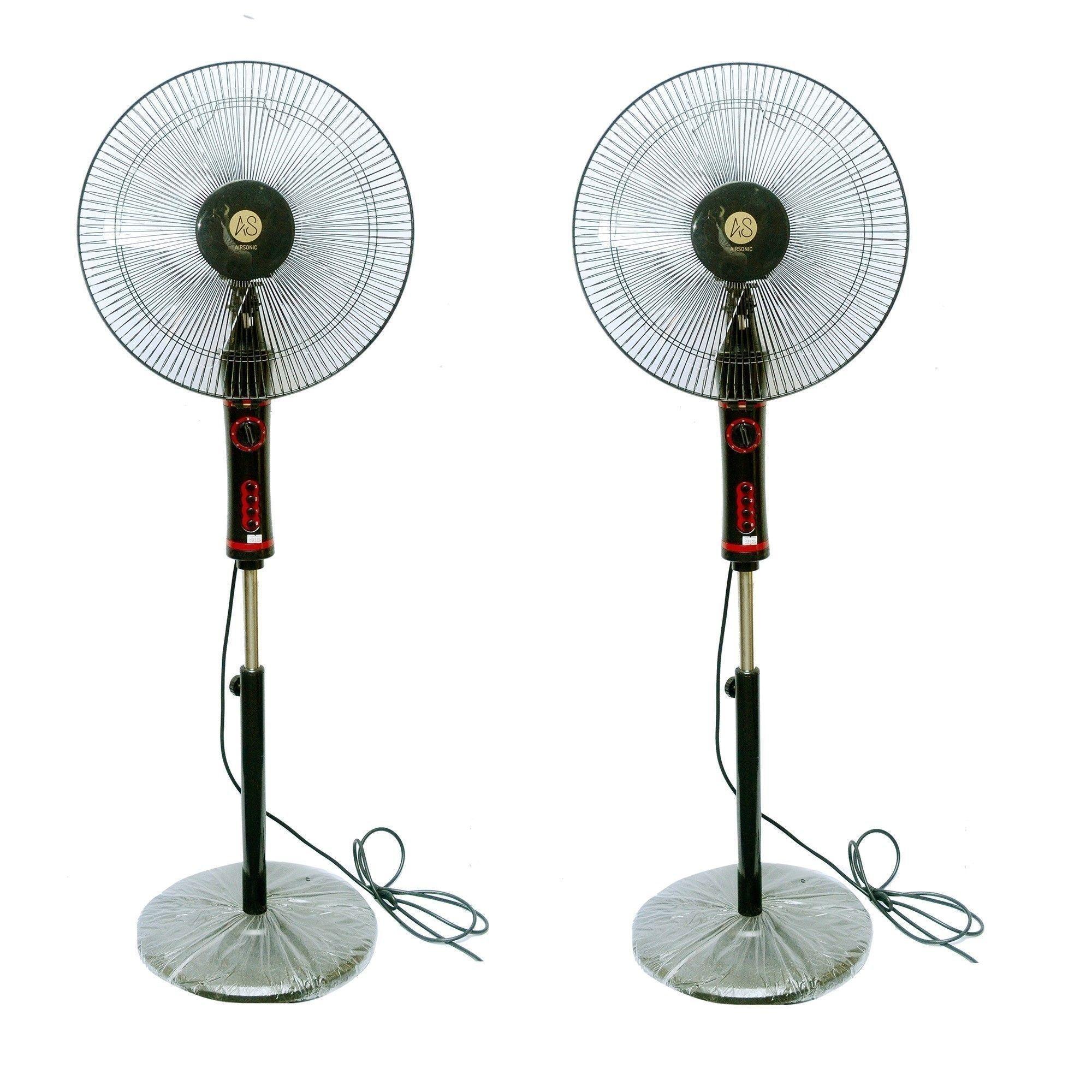 Pack of 2  TS414 Pedestal Fans