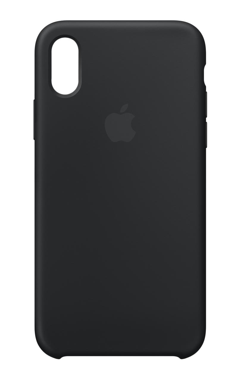 new concept 3e305 ecda3 iPhone XR Silicone Case - Black