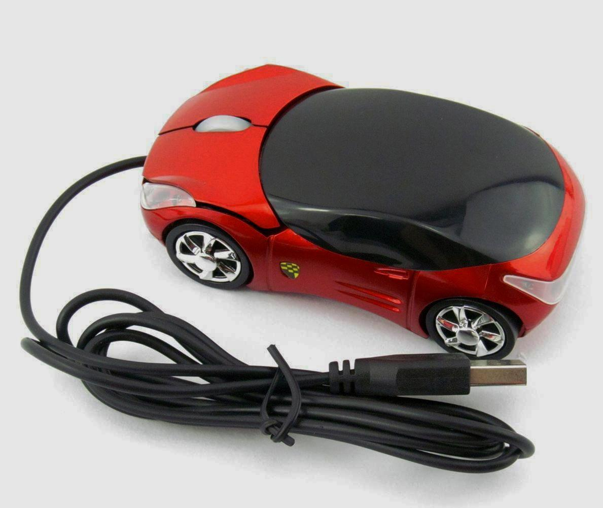 Car Shaped LED Mouse