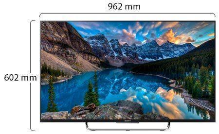 Sony 43 Inch Full HD LED Physical Features