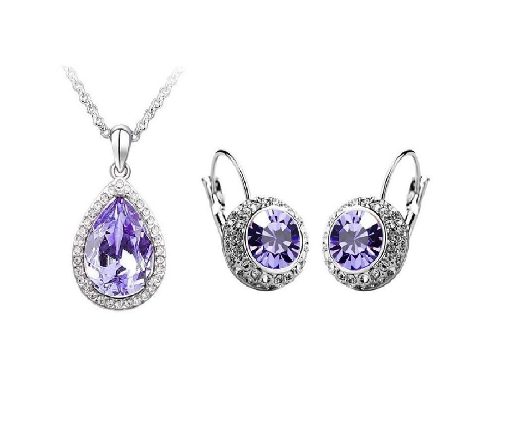 Women's Purple Jewelry Set