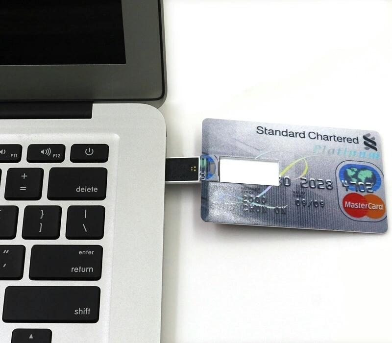 USB Credit Card 4GB Pen Drive