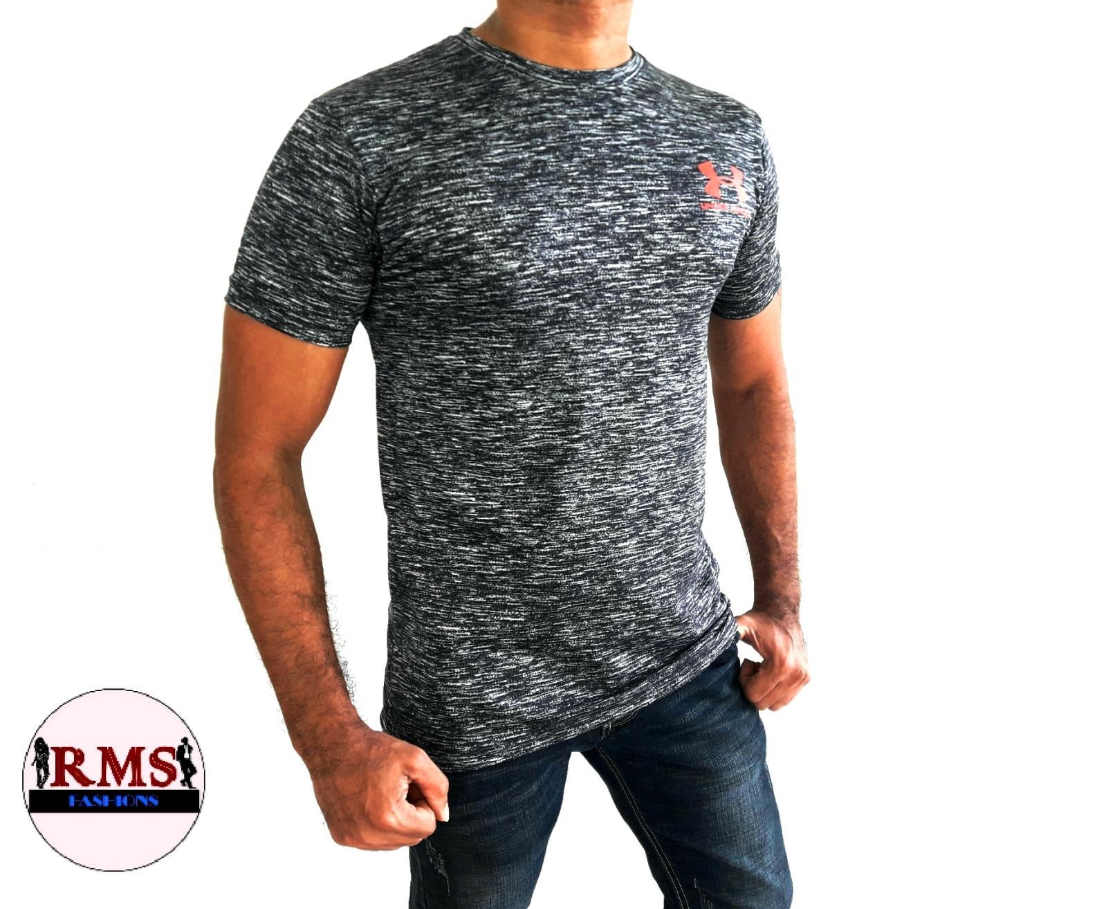 Men's UA Dry-Fit T-shirt - Black
