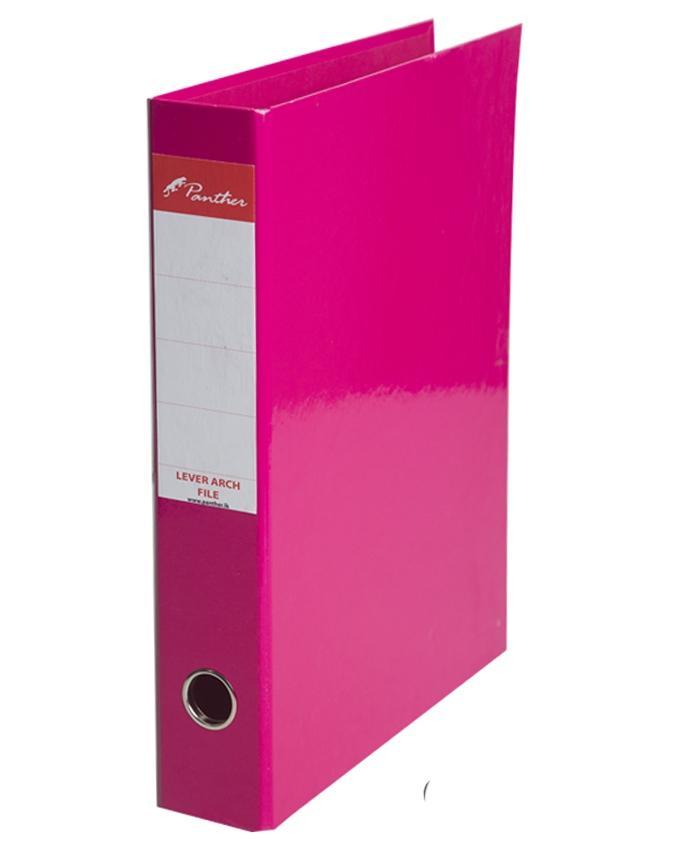 Box Files 50mm  Laminated F4 - Pink