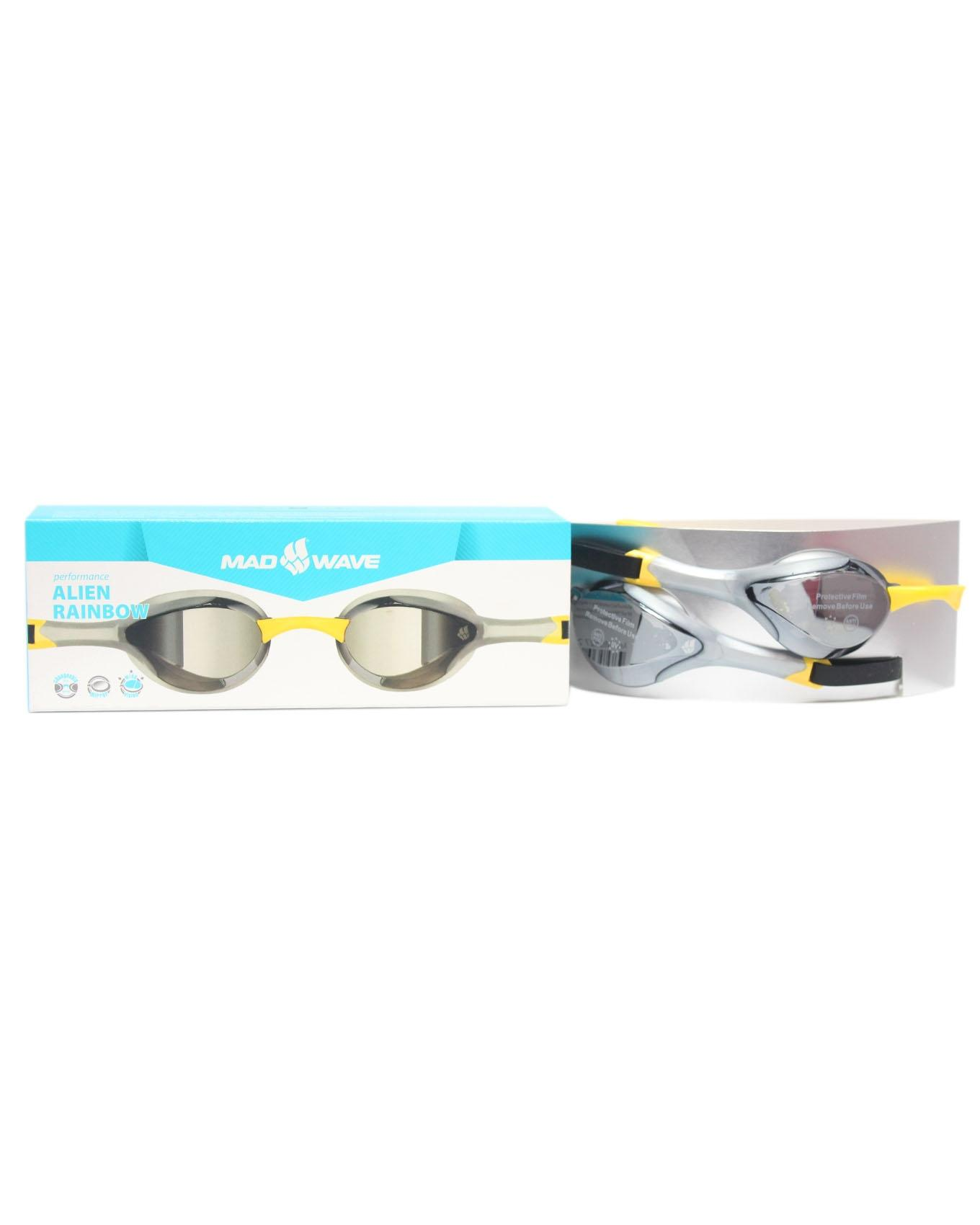089c20f9d6 Performance Alien Rainbow Swimming Goggles - Silver