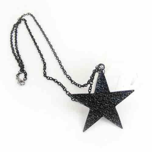 Men's Five-Pointed Star Necklace