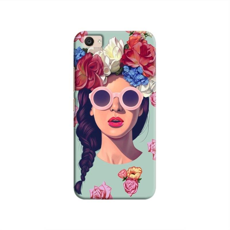 FlowerHead Hard Case For VivoV5Plus