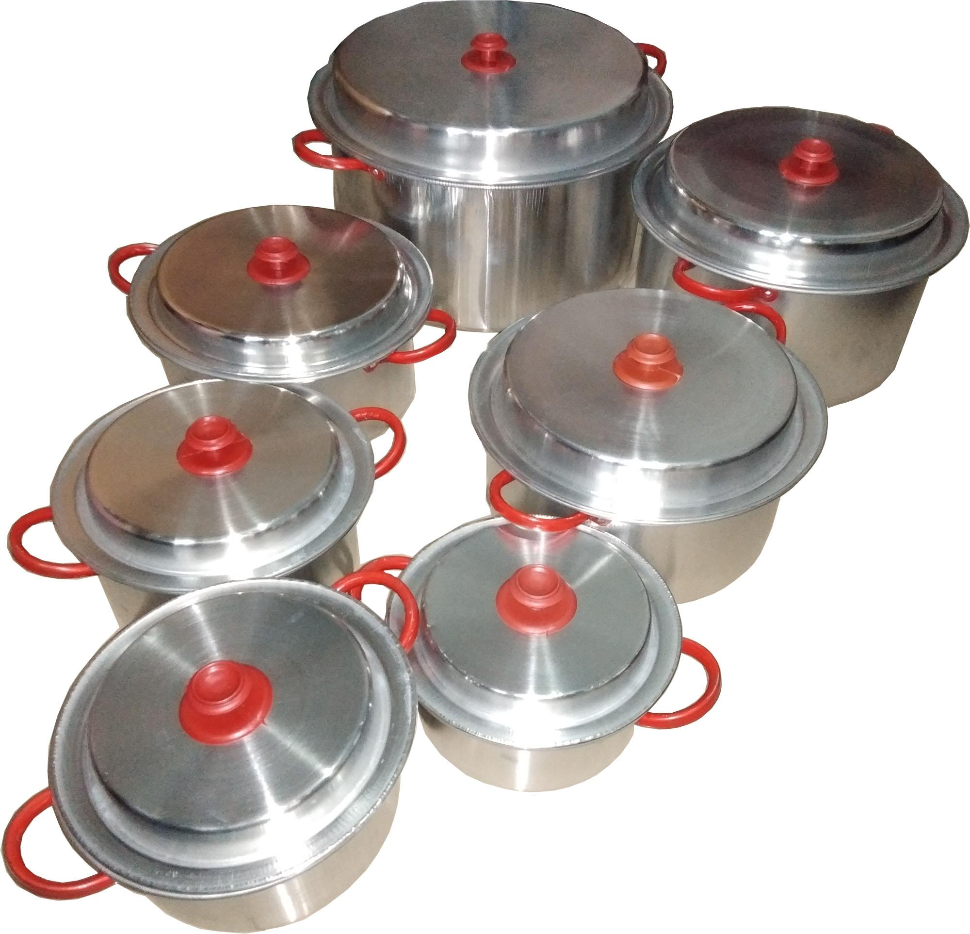 Saucepans Sets - 7 Pieces