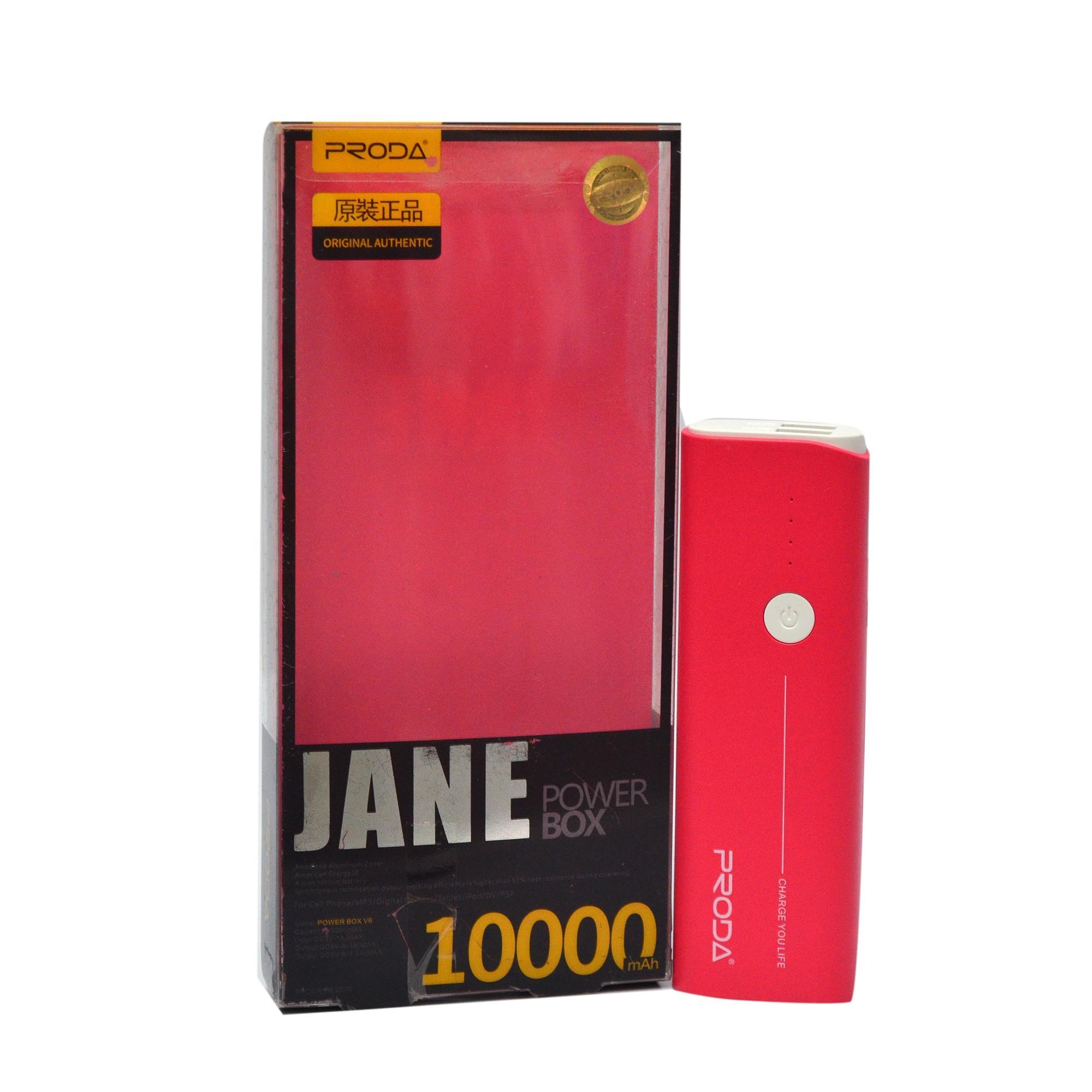 Remax Proda Jane Series Powerbank 10000mAh - Red