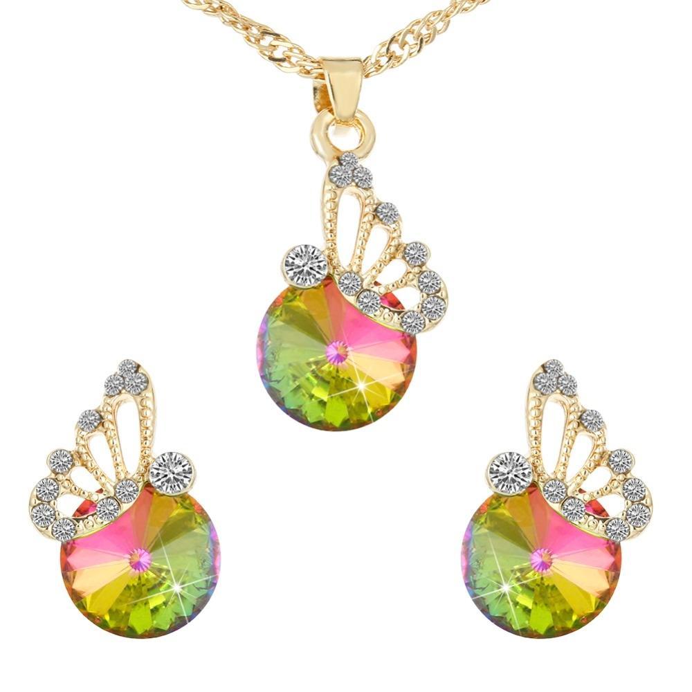 Women's Zircon Jewelry Set