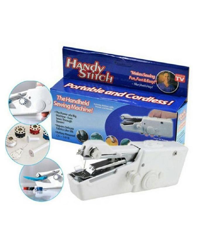 Portable and Cordless Handheld Sewing Machine