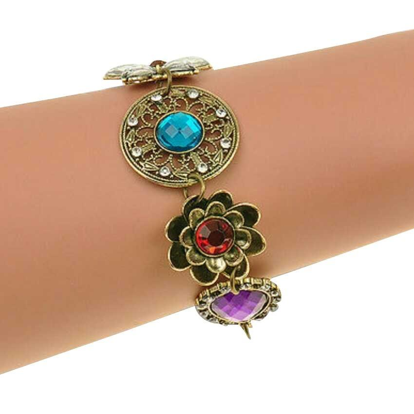 Combo Of Bib Necklace + Bracelet For Ladies