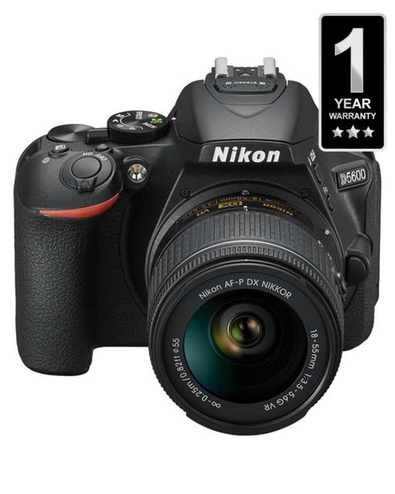 D5600 With 18-55 MM VR KIT