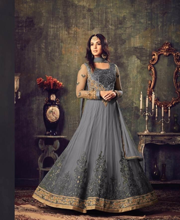 Women's Maisha Shalwar - Grey
