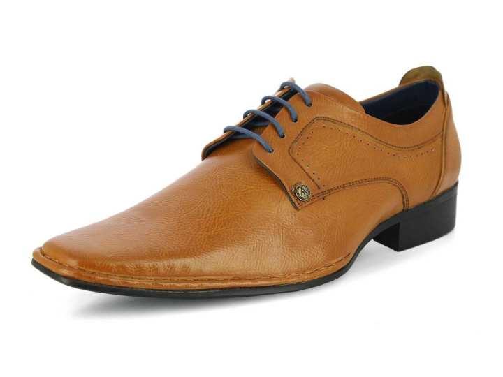 Men's Emilio Tan Formal Shoes