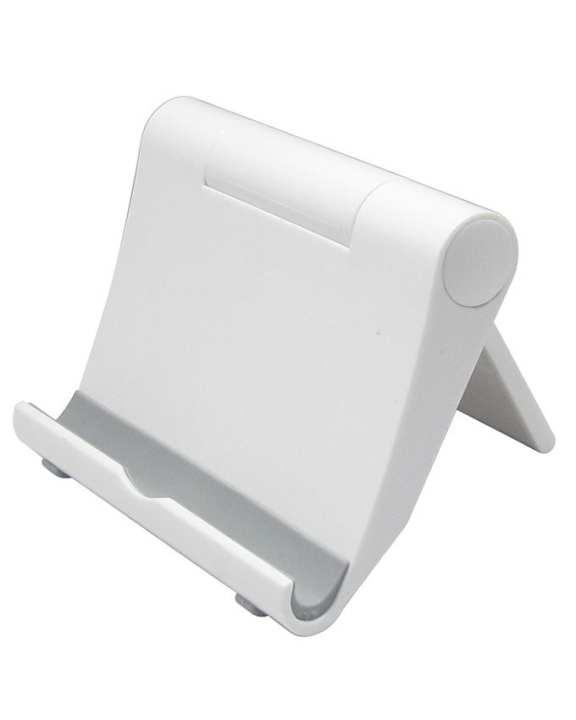 Desk Mobile Phone Stand - White