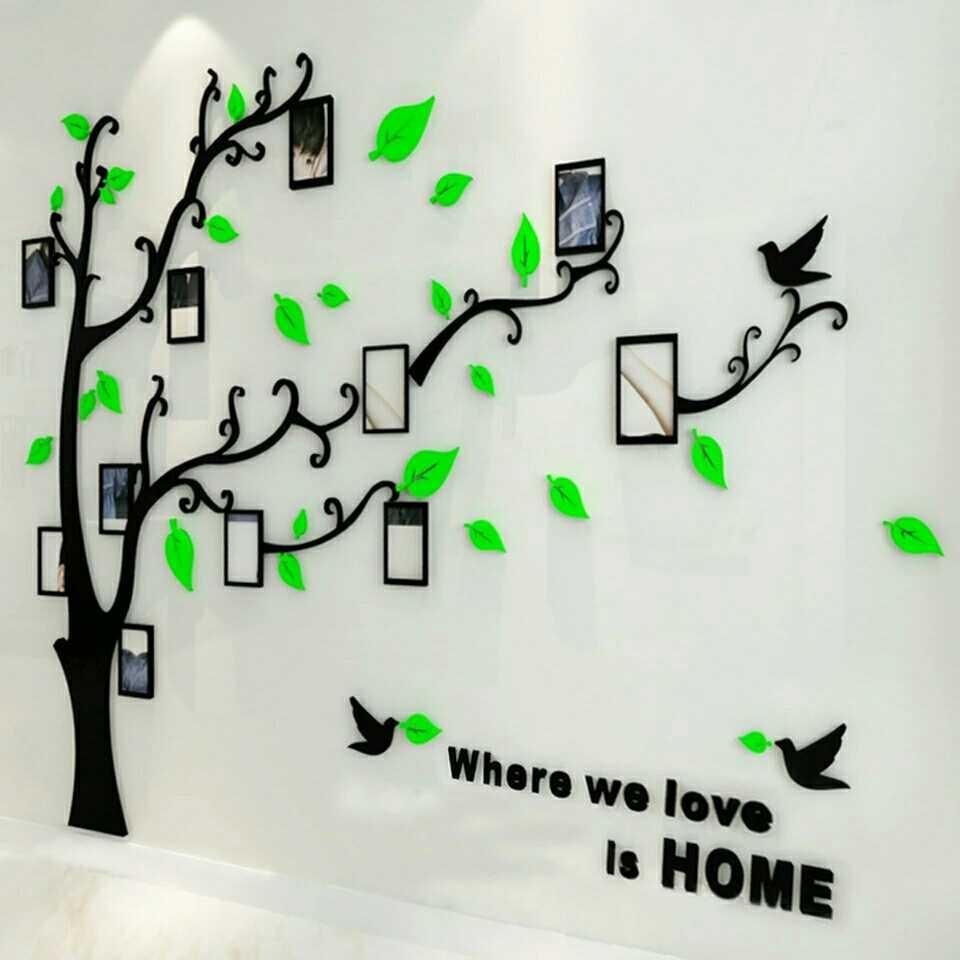 3D Family Tree Wall Sticker
