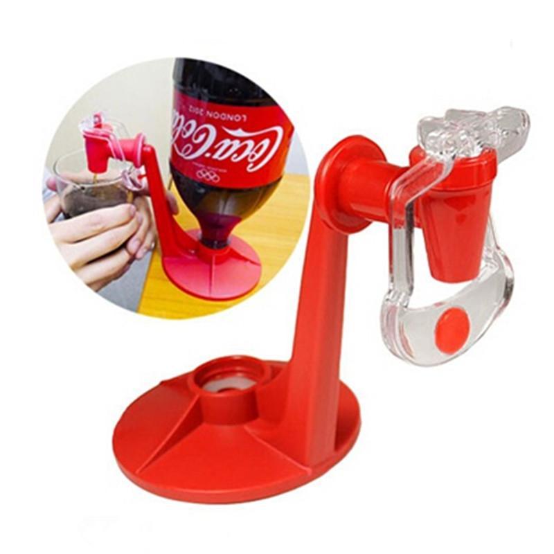 Red Soda Dispenser