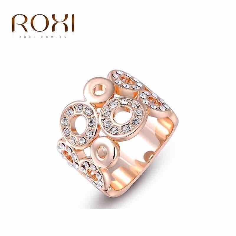 ROXI Classic Austrian Crystal Ring