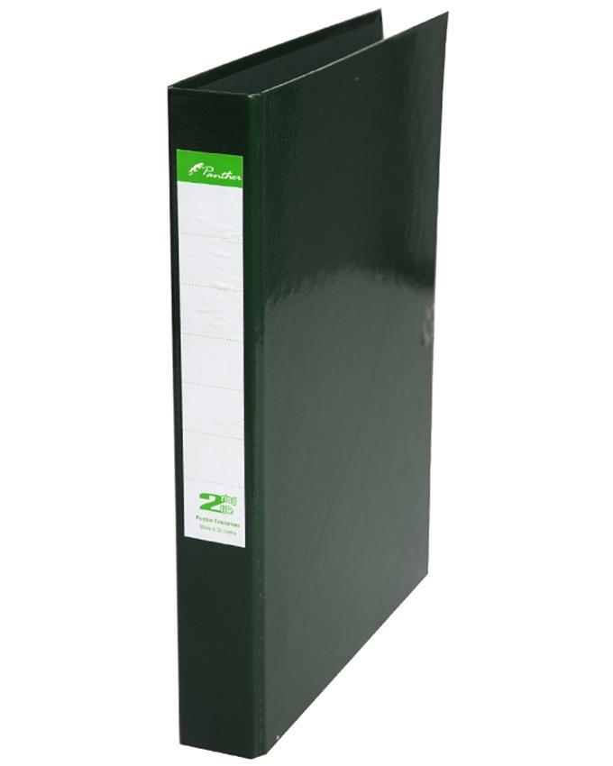 2 Ring Laminated Files A4 - Dark Green