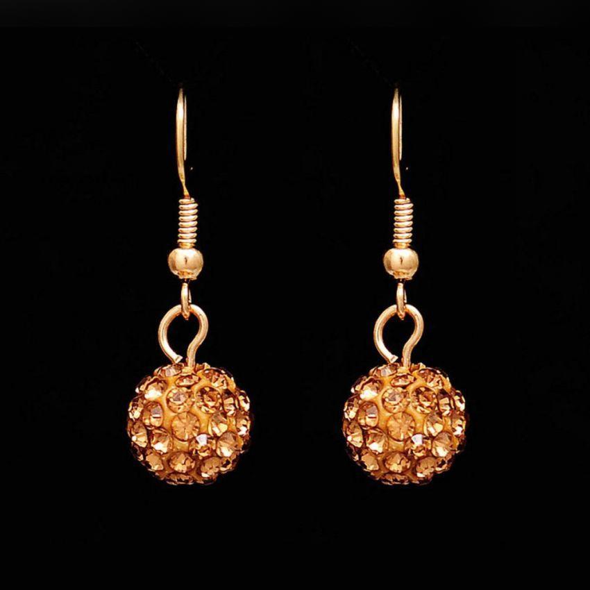 Rhinestone Ball Jewelry Set