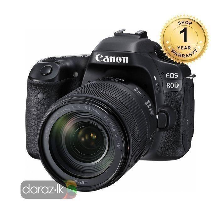 EOS 80D Digital SLR Camera With 18-200mm Lens