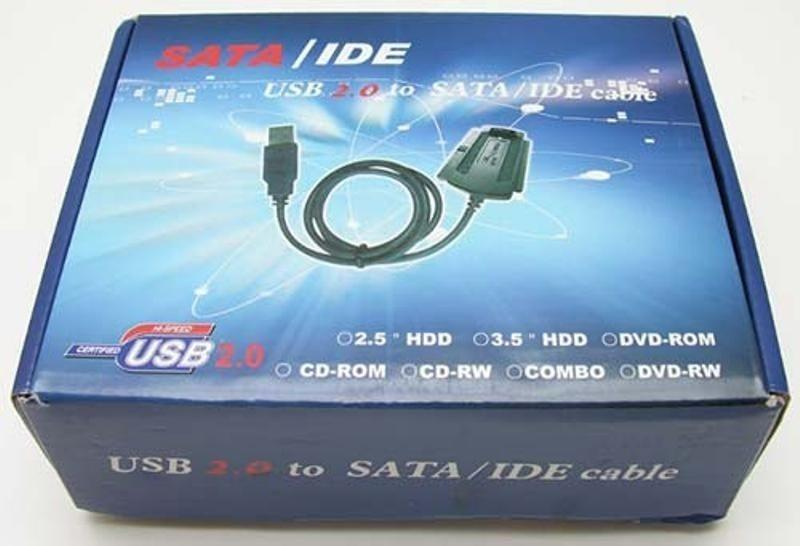 Sata IDE to USB Cable