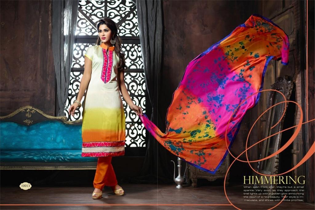 Women's Antra White Cotton Shalwar