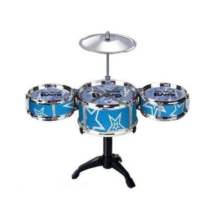 Mini Simulation Jazz Children's Drumming Kits - Blue